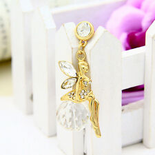 Crystal Angels Girl Anti Dust Plug for iPhone, Samsung,HTC & 3.5mm Earphone Jack