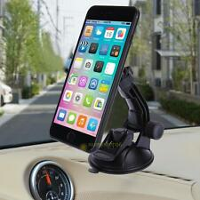 Double Suction Cup Rotatable Car Holder Stand Bracket Mount for Phone Tablet PC