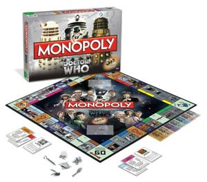 Monopoly Board Game Dr.Who 50th Anniversary Collector's Edition clearance