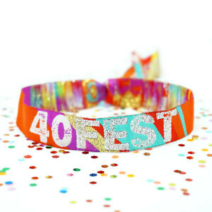 40FEST 40th Birthday Party Festival Wristbands Favours  FORTYFEST 40 FEST