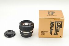 Nikon Ais Nikkor 50mm f1.2 MF for Nikon F mount w/box [Excellent++] from japan