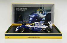 Minichamps 1/18 Ayrton Senna Model Car F1 Williams Renault FW16 Imola 1994