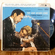 """The Eddie Duchin Story Part 3 EP 7"""" 45 Capitol with picture sleeve VG+"""
