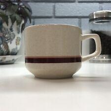Lenox Temper-Ware Brushwork Burgandy Mug