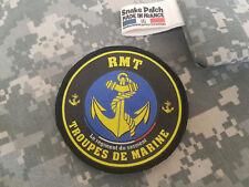 """SNAKE PATCH - écusson TDM """" RMT """" Régiment de Marche du Tchad 2 DB - WW2 FRANCE"""