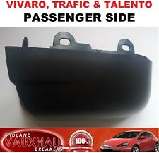 Passenger Side VIVARO TRAFIC Talento Van Lower Wing Mirror Cover Casing Bottom