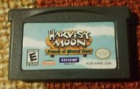 Harvest Moon: Friends of Mineral Town Game Boy Advance *Authentic