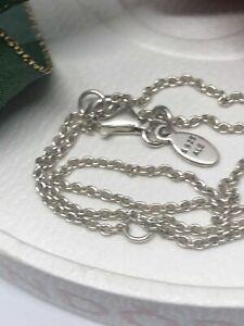 Genuine Sterling Silver PANDORA FINE ANCHOR Necklace Chain 590515 70cm S925 ALE