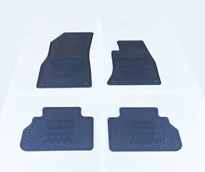 Rugged Rubber Floor Mats Tailored Heavy Duty for Audi Q5 2017-21 FY OE shape