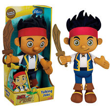Talking Jake Hook Lzzy and The Never Land Pirates Stuffed Plush Doll Soft Toy