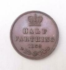More details for 1852 half farthing coin queen victoria near uncirculated