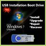 Windows 7 Ultimate USB Boot Drive 32/64bit UPGRADE INSTALL RECOVER REPAIR PC