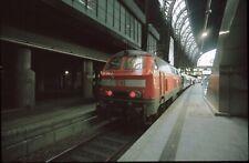 Originaldia DB 218 338 Hamburg 28.3.2000