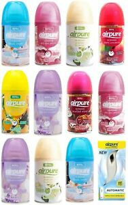 AIRPURE REFILL CAN / TIN TIME RELEASE AUTOMATIC FRAGRANCE  250ml