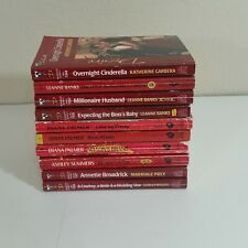 Silhouette Desire Romance Books Leanne Banks Diana Palmer Lot of 10