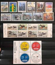 Aland Finland Year Set 2000 MNH Complete with Booklet & Minisheet - EXCELLENT!