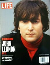 Remembering JOHN LENNON AT 75 - BEATLES Special Edition by LIFE Magazine UNREAD
