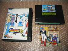KING OF FIGHTERS 98 NEO GEO HOME CART AES IMPORT!(MANUAL OF KOF97)
