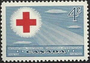 Canada  # 317   Red Cross Conference   Brand New 1952 Pristine Issue