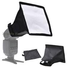 15x17cm Universal Mini Flash Diffuser Softbox Kit for Speedlite Speedlight Flash