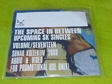 "VARIOUS - The Space In Between Upcoming SK 12""s Volume SEVENTEEN !!!!CD PROMO!"