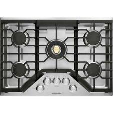 Nib - Monogram 30 Inch Gas Stainless Steel Cooktop- Zgu30Rslss