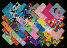 """I SPY for GIRLS 4"""" Squares, 100% Cotton Prewashed, Quilt Block Fabric (#A/21B)"""