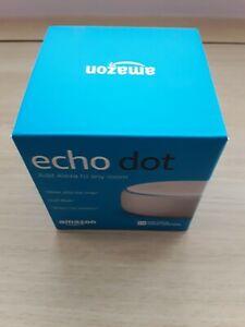 Amazon Echo Dot 3rd Generation (3rd Gen) Smart Speaker With Alexa, White. Used