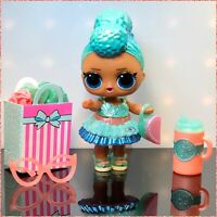LOL Surprise Present March AQUA Doll Birthday Baby Gift Box Glasses L.O.L. Doll