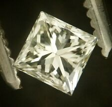 EGL -USA Cert 0.38ct Princess cut diamond N SI-1
