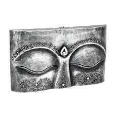 Buddha Augen - Holz Relief - Handarbeit aus Bali - Gr. M 40 cm - Budha Wandbild