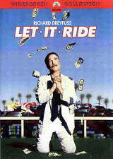 LET IT RIDE (DVD, 2001, Widescreen) - NEW RARE DVD