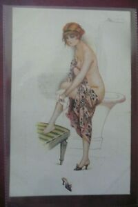 GLAMOUR EARLY FRENCH DIVIDED BACK  POSTCARD  by SUZANNE MEUNIER