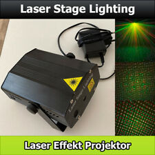 Laser Stage Lighting Effekt Projektor rot grün musikgesteuert für Party / Bühne