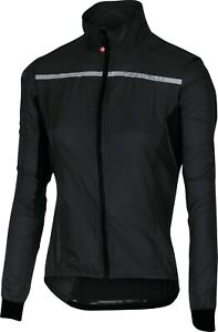 Castelli Superleggera Women's Cycling Jacket Black Size Small: SUPER LIGHT