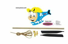 Jamara 381624 Elastic-Heli Hubschrauber mit Gummimotor