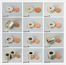 Multiple Size 254mm 1outer Diameter Strong Rare Earth Neodymium Ring Magnets