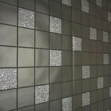 89130 Tiling on a Roll Granite Black Kitchen & Bathroom Wallpaper