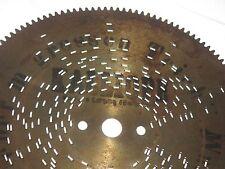 """Übern grossen Teich Gloriosa Kalliope Blechplatte 18cm Leipzig music disc 7 1/8"""""""
