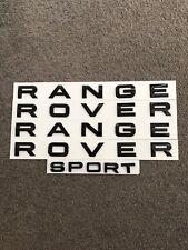 OE Style Gloss Black Range Rover Logo Badge Decal Sticker For Range Rover Sport