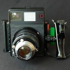 Mamiya Universal Polaroid Camera w/150mm f/5.6 Lens, Roll Film Back, Excellent