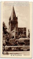 Christ Church Cathedral University of Oxford England 1930s Trade Ad Card