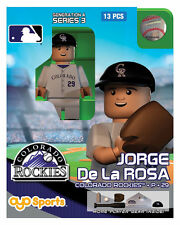 Jorge De La Rosa OYO Colorado Rockies MLB Mini Figure NEW G4