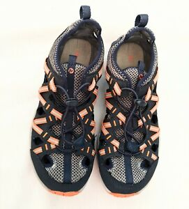 Boys Merrell Sandals Size 5 Youth Hydro ChopRock Shandal MINT CONDITION