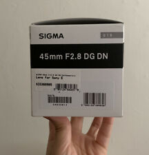 Sigma Contemporary 45mm f/2.8 DG DN Standard Camera Lens - Sony E-mount