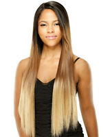 """Freetress Equal Deep Invisible """"L"""" Part Lace Front Wig VIRGO"""