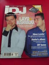 iDJ MAGAZINE LAYO & BUSHWACKA July 2002