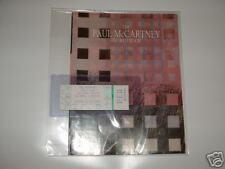 PAUL McCARTNEY Unused Concert Ticket 1990 PROGRAM Pass SUN DEVIL STADIUM Beatles