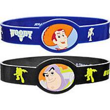 Toy Story 3- Woody & Buzz- 4 pack Rubber Bracelets