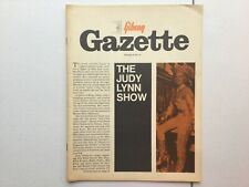 Gibson Gazette Volume 6 issue 2 Rolling Stones Mick Jagger Wes Montgomery 1966